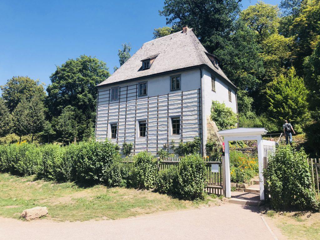 Weimar mit Kindern Ilm Par Goethe Sommerhaus