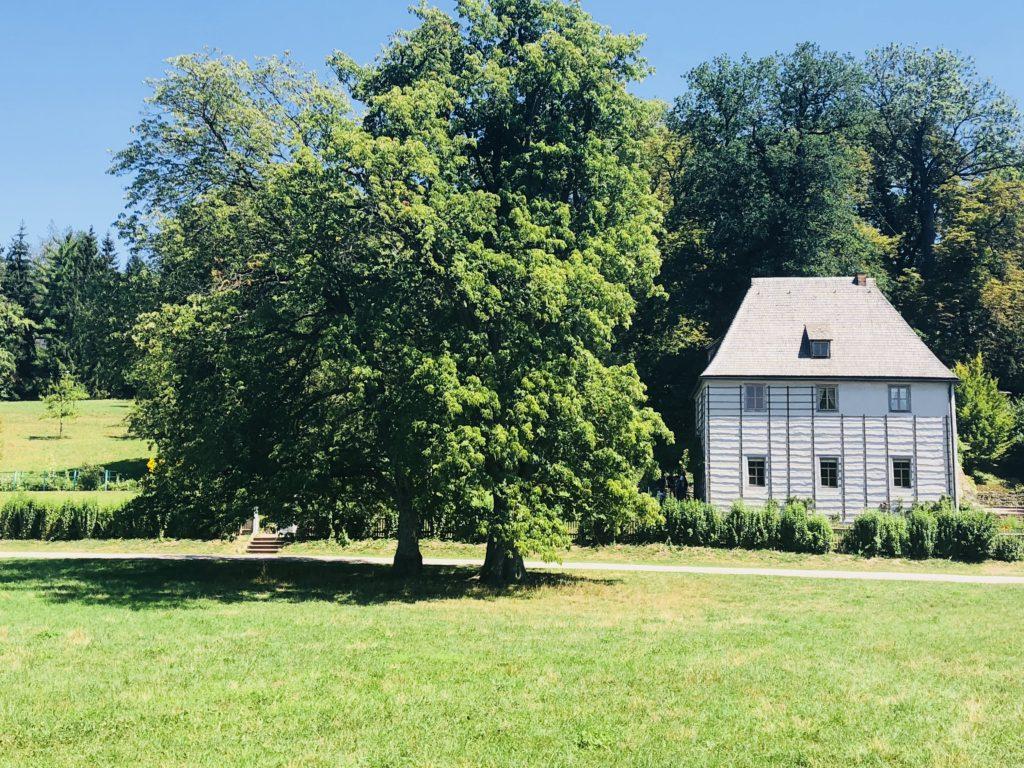 Weimar mit Kindern Ilm Park Goethe Sommerhaus