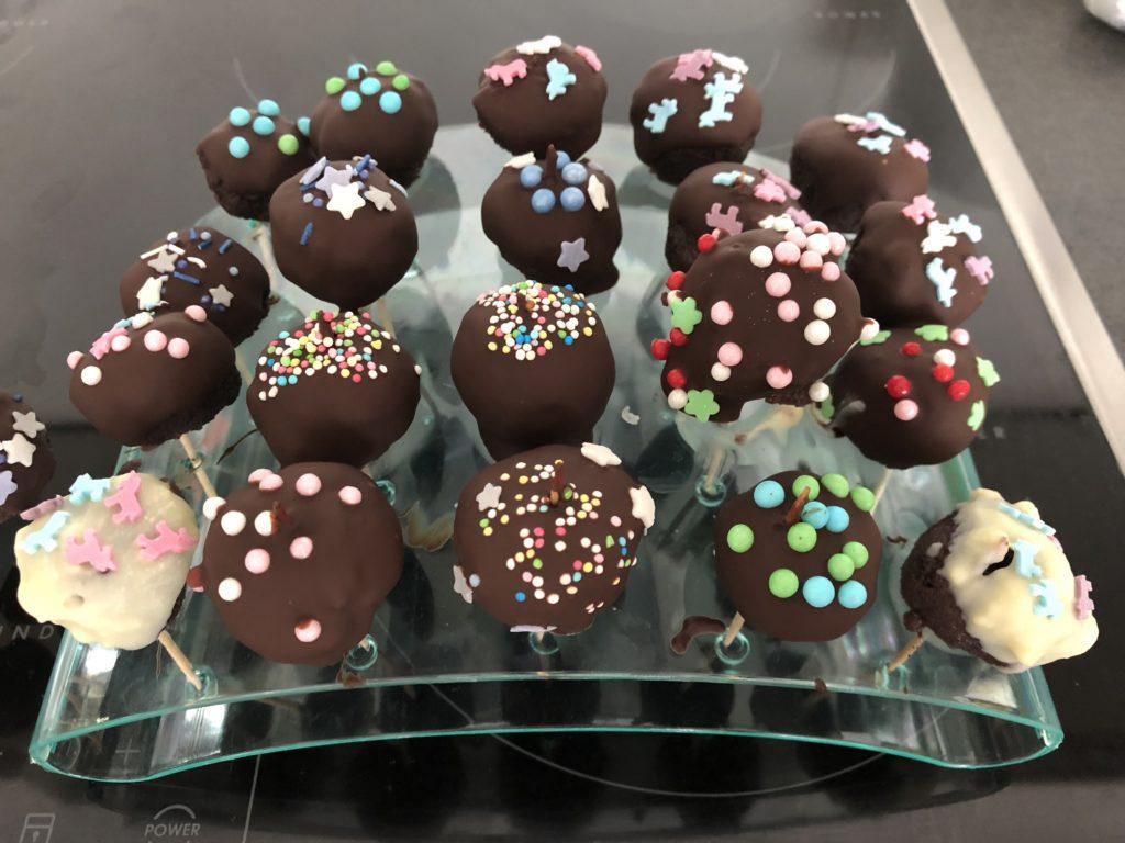 Cake Pops, Cakepops mit Streuseln