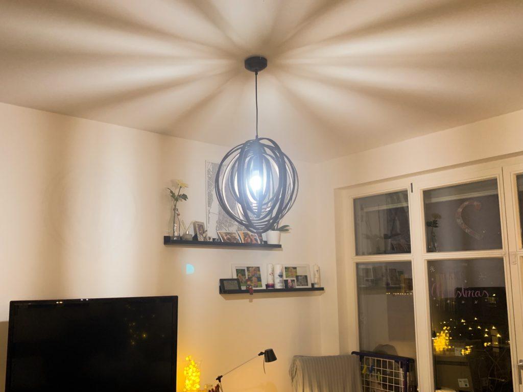 LED Pendelleuchte Boolan braun click-licht.de