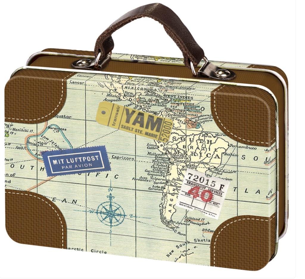 Mini Reisekoffer für Geldgeschenke momsesverlag
