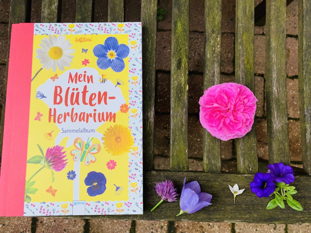 Mein Blüten Herbarium Arena Verlag