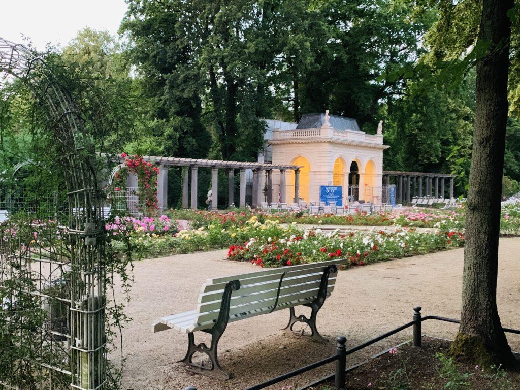 Rosengarten Bürgerpark Pankow