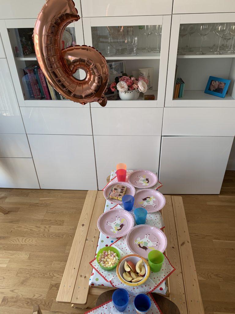 Geburtstagstisch Kindergeburtstag